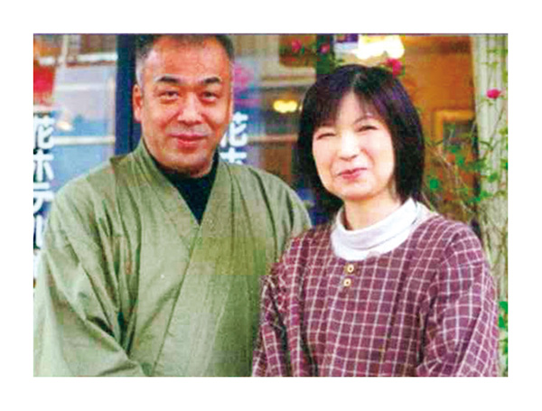 笑顔でもてなす 塩田夫妻