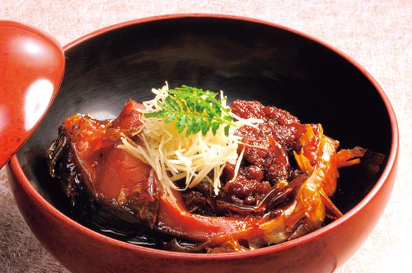 ▲会津代々の郷土料理鯉の 甘露煮「おみや」
