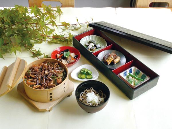 九曜亭で味わえる 「会津三昧膳」