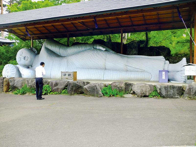 巨大釈迦横臥像