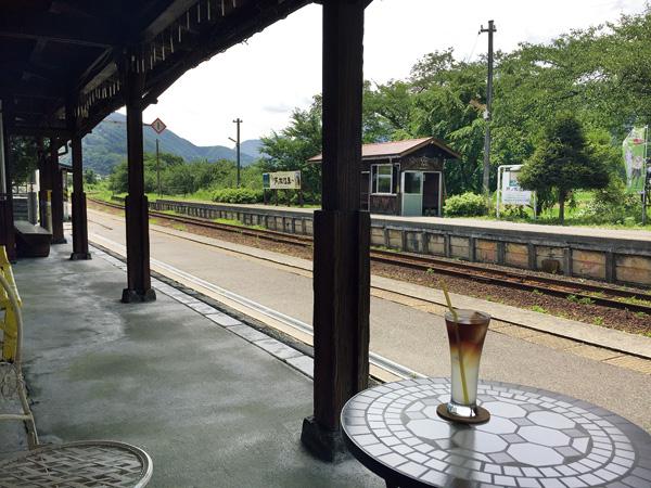 会津鉄道の夏のひととき