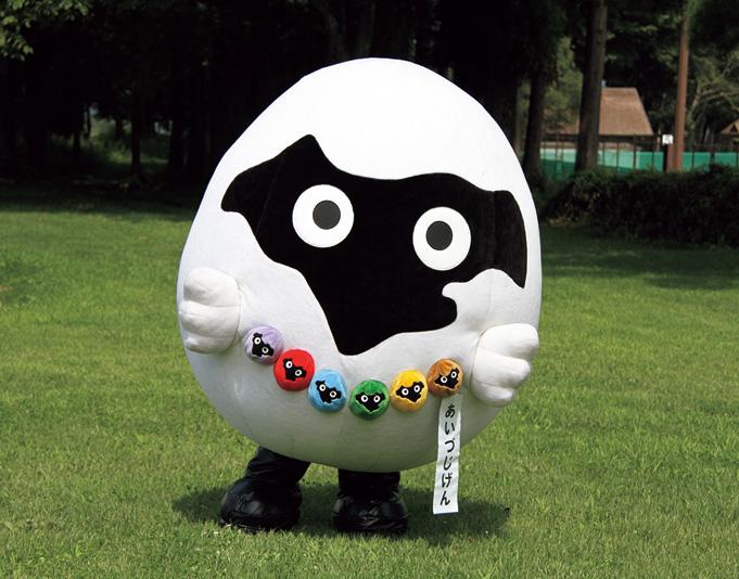 会津美里町のイメージ キャラクター「あいづじげん」