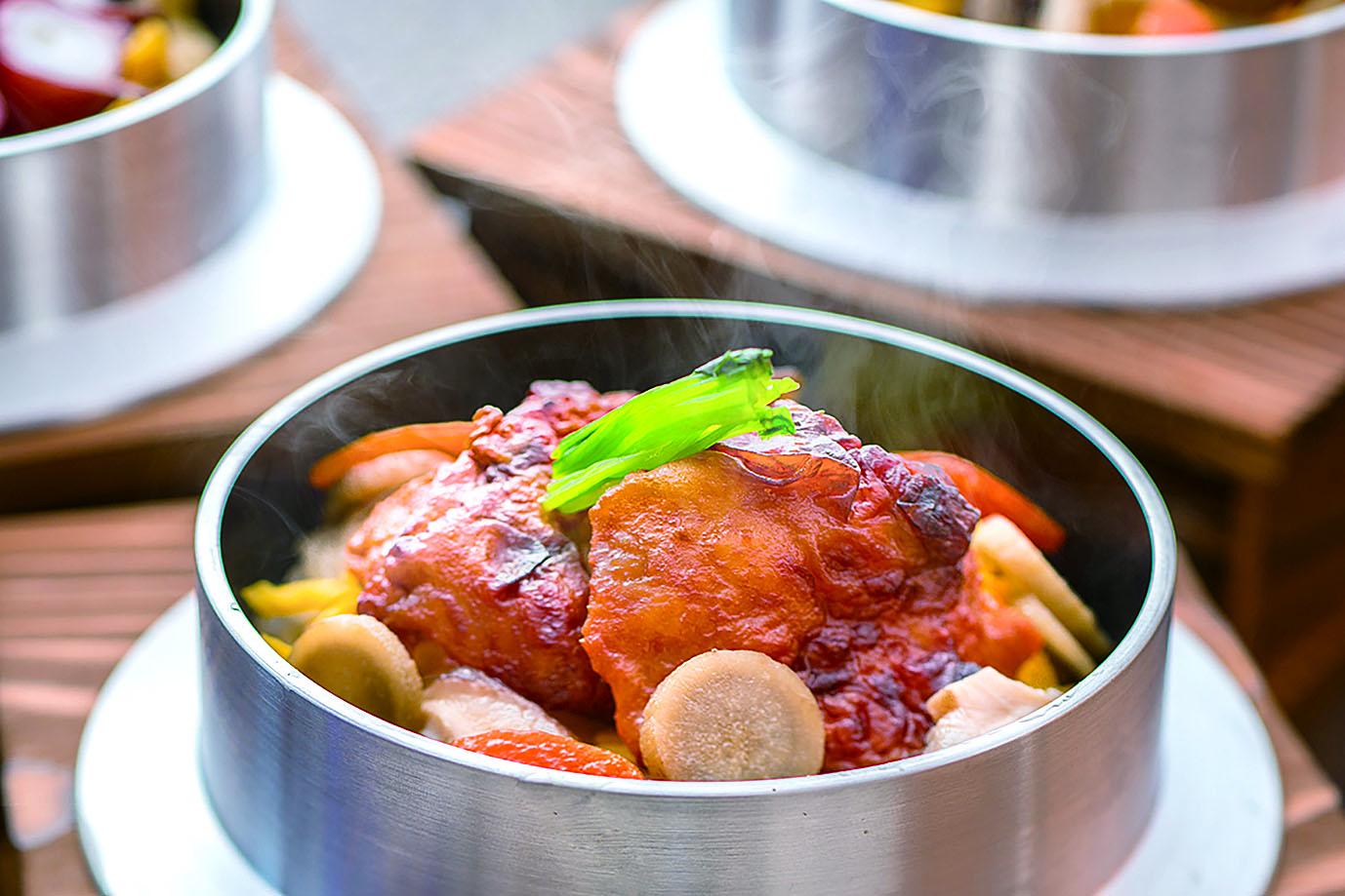 伊達鶏釡飯