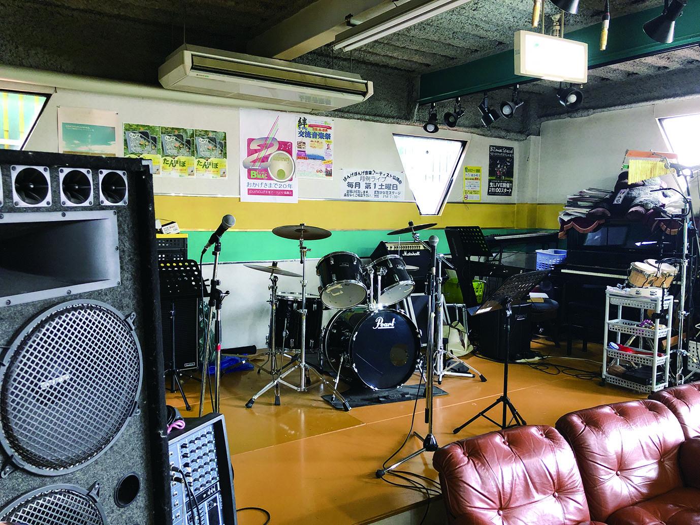 ばんげぼんげ音楽アーティスト協議会 月例ライブ はな花ステージ