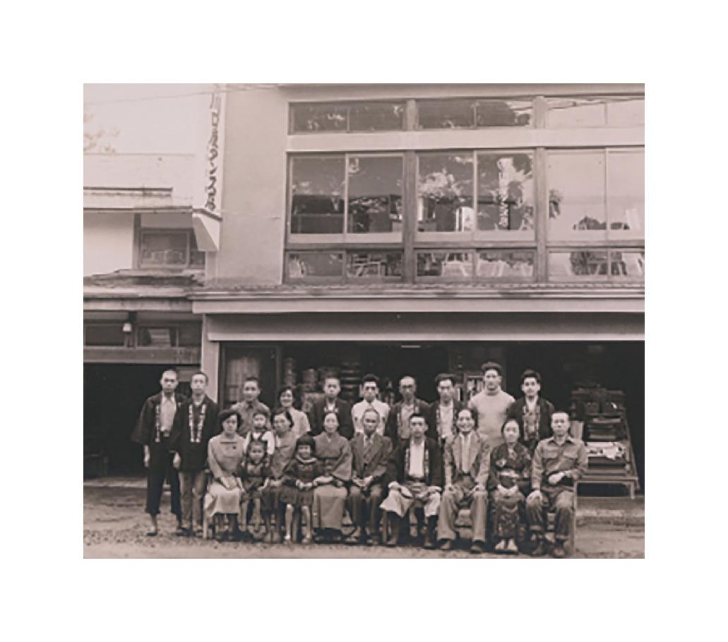 1935年(昭和10年)創業当時の思影